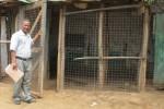 Addisu Aznato Alene who teaches english at home in Kakuma camp