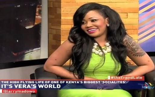 Vera Sidika's life on kenya national tv