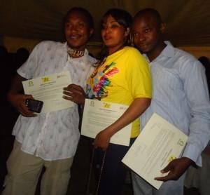 tanzania's albert maingi, binti makuna, peter mbwago