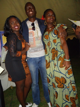 kenya's queeny mwangi, kevin ogolla, daisy okoti