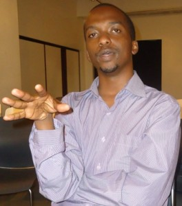 sam kiranga, web designer and journalist