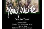 yony waite shows at nairobi national museum