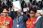 president mwai kibaki promulgates Kenya Constitution 2010