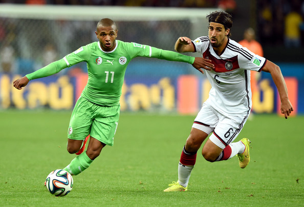 yacine brahimi of algeria versus germany