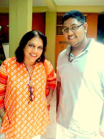 mira nair with jayant maru