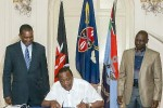 kenya's new security law receives presidential assent