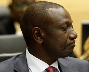 kenya's deputy president william samoei arap ruto