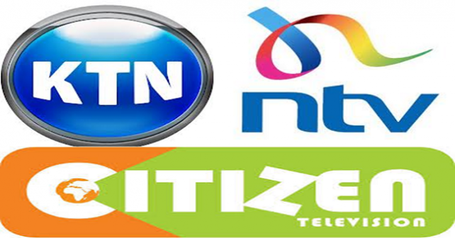 ntv, qtv, ktn, citizen tv