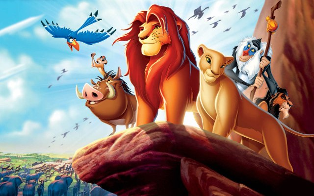 Walt Disney's the lion king