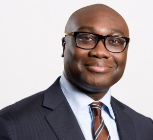 Komla Dumor, first host of  African business news programme on BBC World News