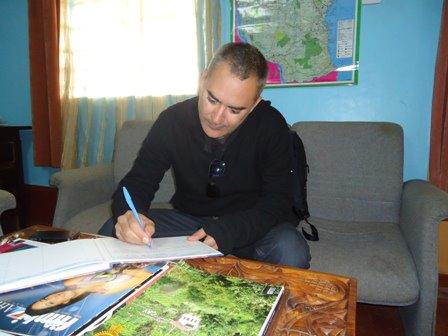 about ndugu director, david munoz, at lola kenya screen's headquarters