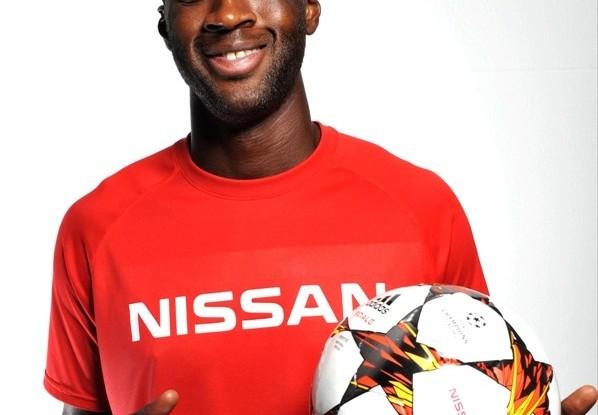 nissan sponsored uefa champions league 2015 yaya topure