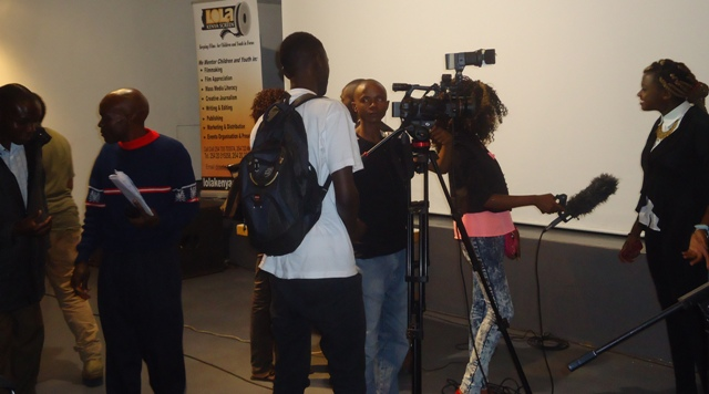 tv interview during 80th monthly lola kenya screen film forum