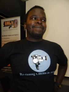 Mark Wambui presents his film, SEPTEMBER,at Lola Kenya Screen film forum