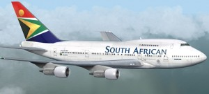 South African Airways flies into Zimbabwe