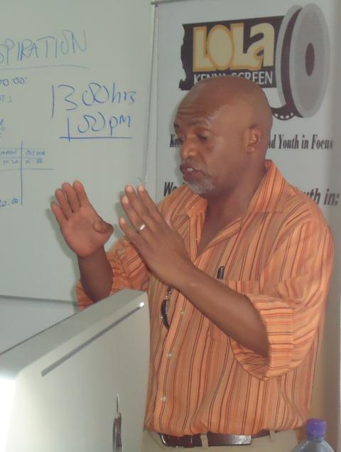 Ali Mwangola, Kenyan Film Set Designer