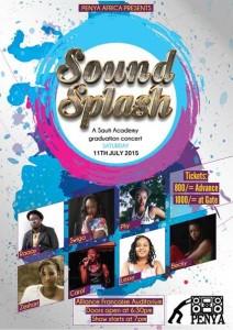 sound splash sauti academy graduation concert at Alliance Francaise