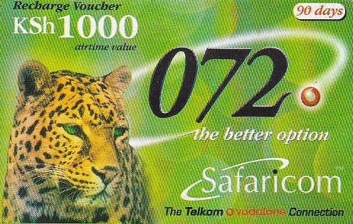 safaricom airtime recharge voucher