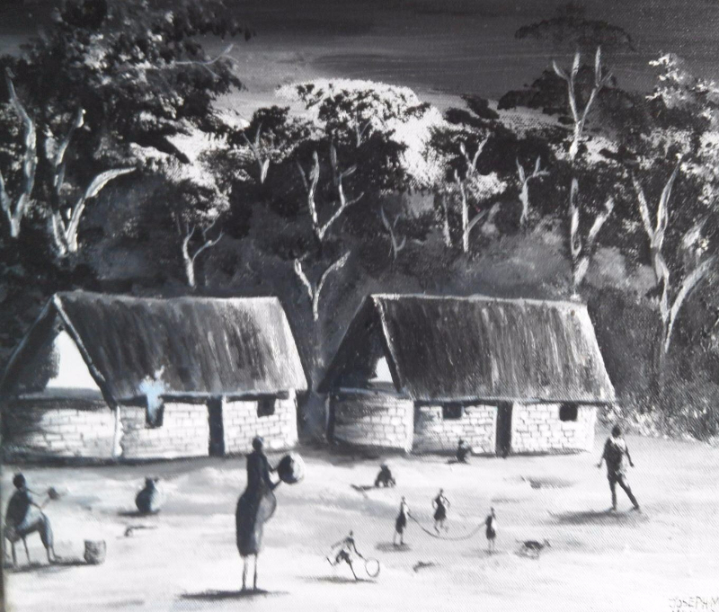 Karen Blixen Museum art exhibition by Joseph Muchina