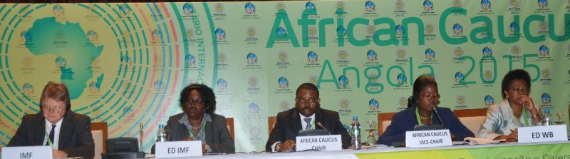 Meeting of the African Caucus in Luanda, Angola