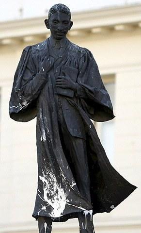 Mahatma Gandhi statue, johannesburg, south africa
