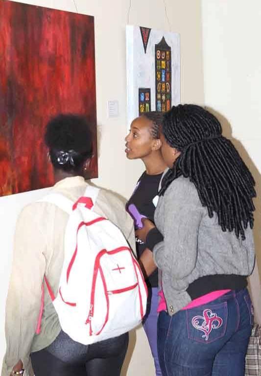 Art Lovers Appreciate Sudanese Vision Exhibition,Creativity Gallery, Nairobi National Museum
