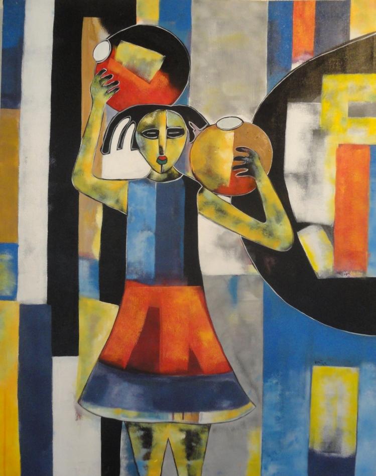 Ugandan artist Paul Kintu's work