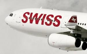 swiss international air lines plane