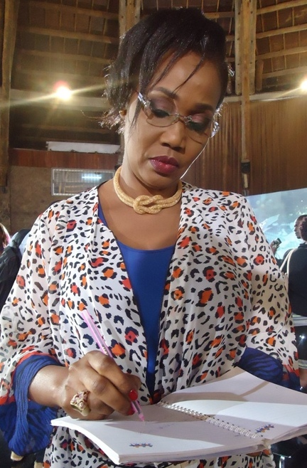 Hafsa Mossi, the chairperson of the Women Caucus in the East African Legislative Assembly