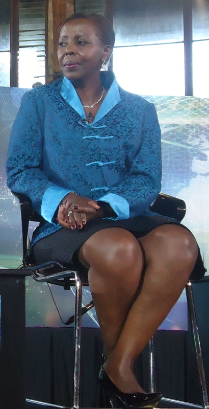 Louise Mushikiwabo, Rwanda's Minister for Foreign Affairs