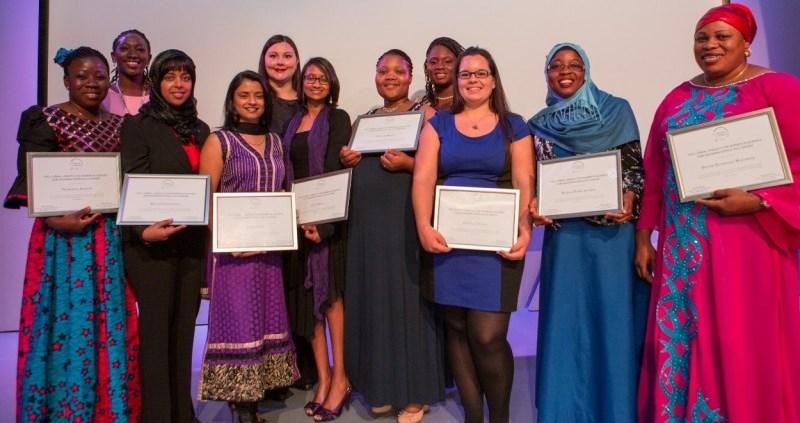 L'Oréal-UNESCO For Women in Science Sub-Saharan Africa fellows 2015