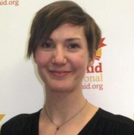 Jessica Faulkner, Head of Communications at Book Aid International