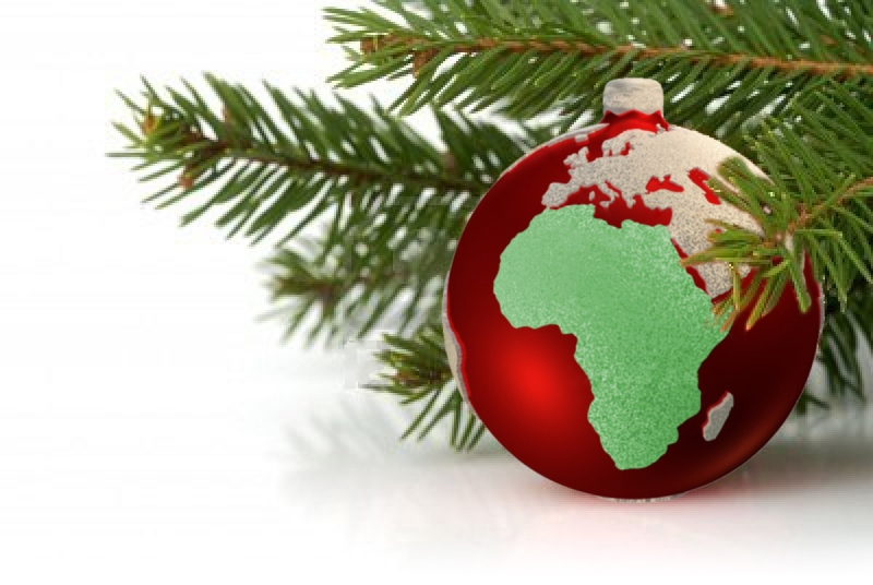 Christmas in Africa; an Africanimports image
