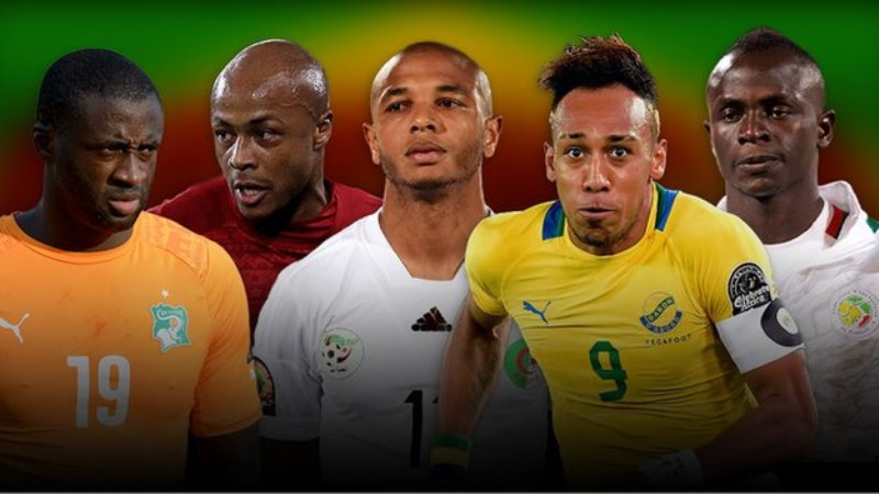 BBC African Footballer of the Year award 2015 Nominees