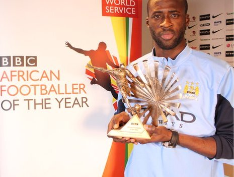 Yaya Toure Wins BBC African Footballer of the Year Award 2015