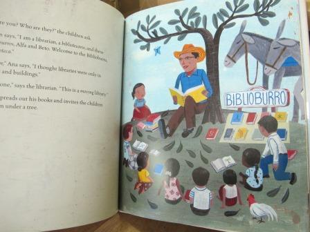 Biblioburro, a book to warm any librarian's heart!