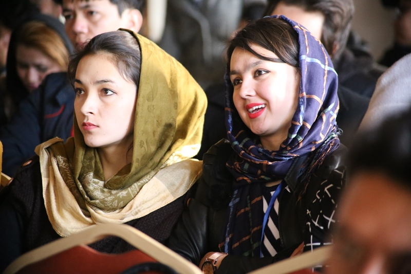 Afghanistan Human Rights Film Festival guests delighted by the magic of film
