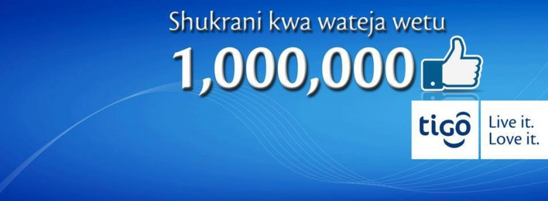 Tigo Tanzania's fans on Facebook pass the 1 million mark