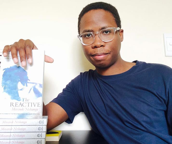 Masande Ntshanga, author, South Africa,selected by Bundanon Trust, Australia