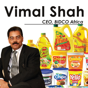 Vimal Shah, CEO, Bidco Africa