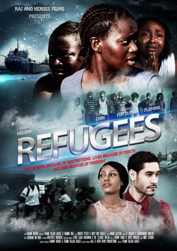 Best Art Director: Frank Rajah Arase for THE REFUGEES