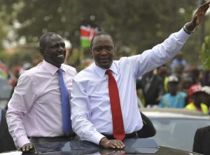 President Uhuru Kenyatta and Deputy President William Ruto had been charged at ICC
