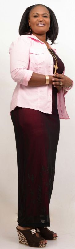 Kenyan gospel musician Geraldine Oduor