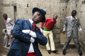 Daniele Tamagni won the Canon Young Photographer Award with a project about the Congolese dandies, Sapeurs of Brazzaville, in 2007. Three years later, in 2010, won the ICP, Infinity Award, fashion category.