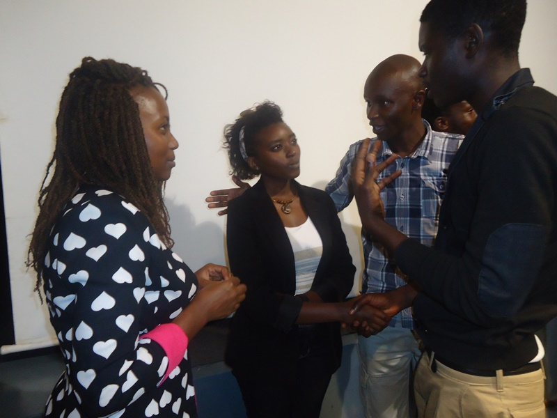 Mirror Cut Projects crew and cast networking with practitioners in the movie sector