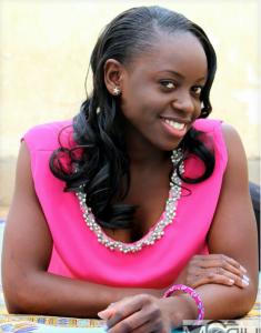 commercial model Eunice Ayuma