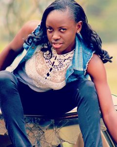 Do you possesses enough courage and confidence with which to approach actress Eunice Ayuma?