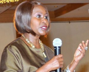 Judi Wakhungu is Kenya's Minister for Environment, Natural Resources and Regional Development Authorities