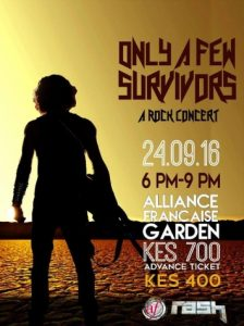 Rash Band launches 'Only A Few Survivors', its debut Swahili rock music album