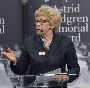 Professor Boel Westin, Chair, Astrid Lindgren Memorial Award 2017